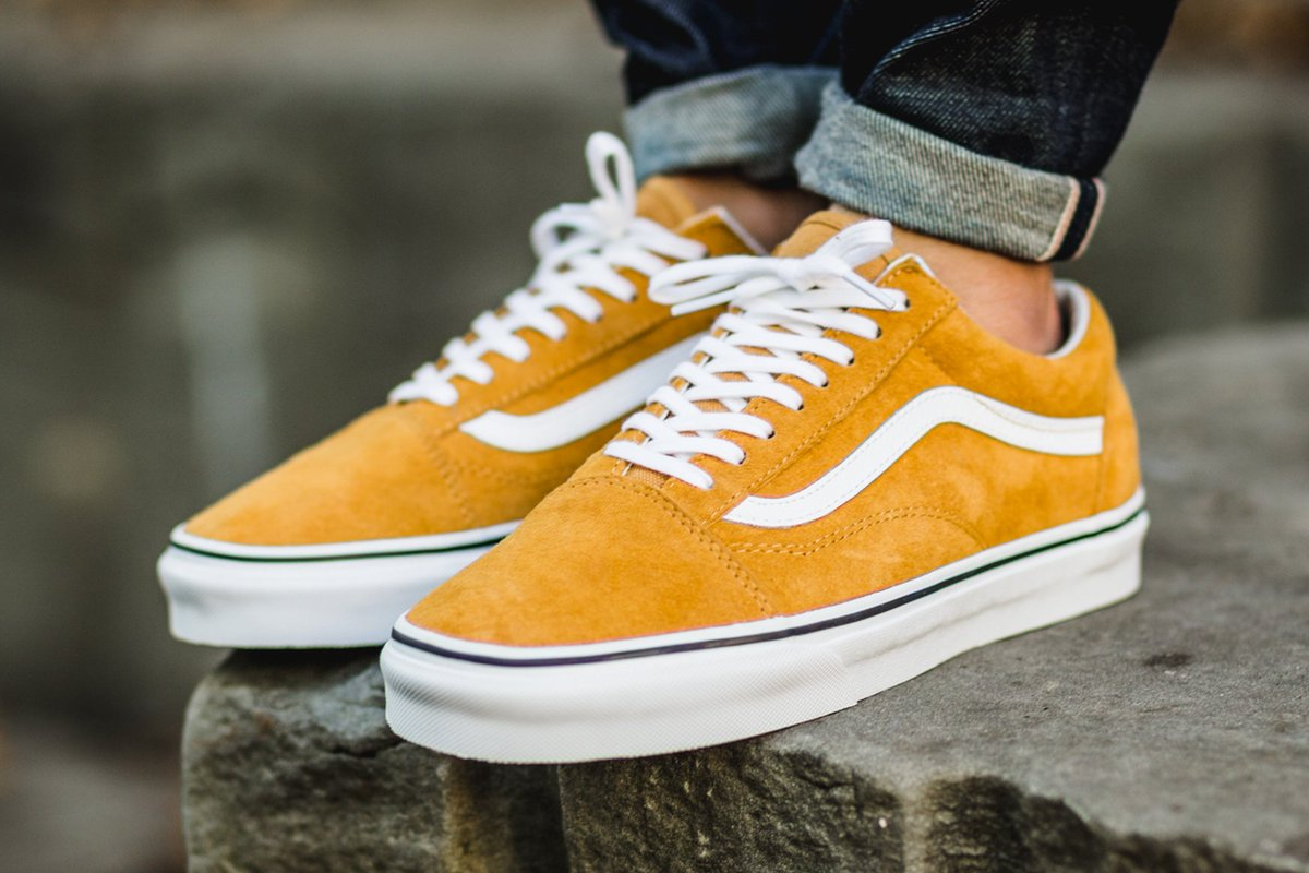 vans old school yellow