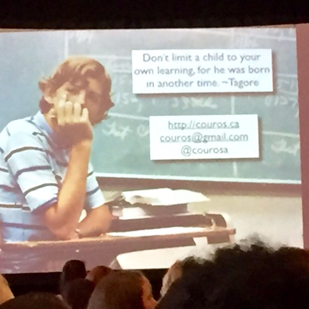 The best keynote I've experienced by @courosa at #LACUE2015 @CPSB_TTC https://t.co/OvvB7xs3fQ