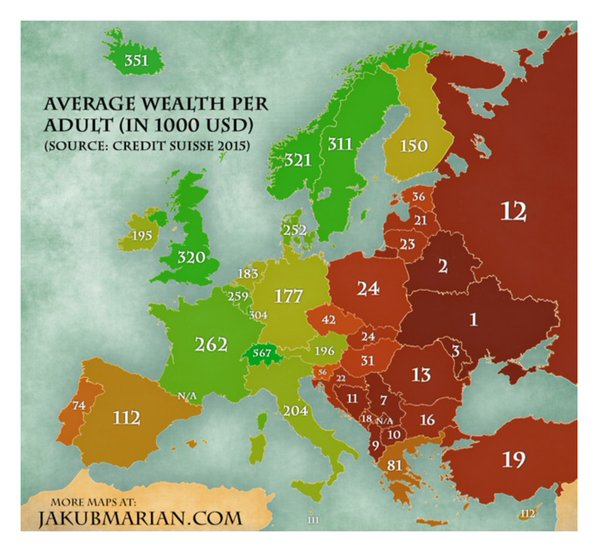 Finance Uncovered On Twitter Fascinating The Private Wealth Map