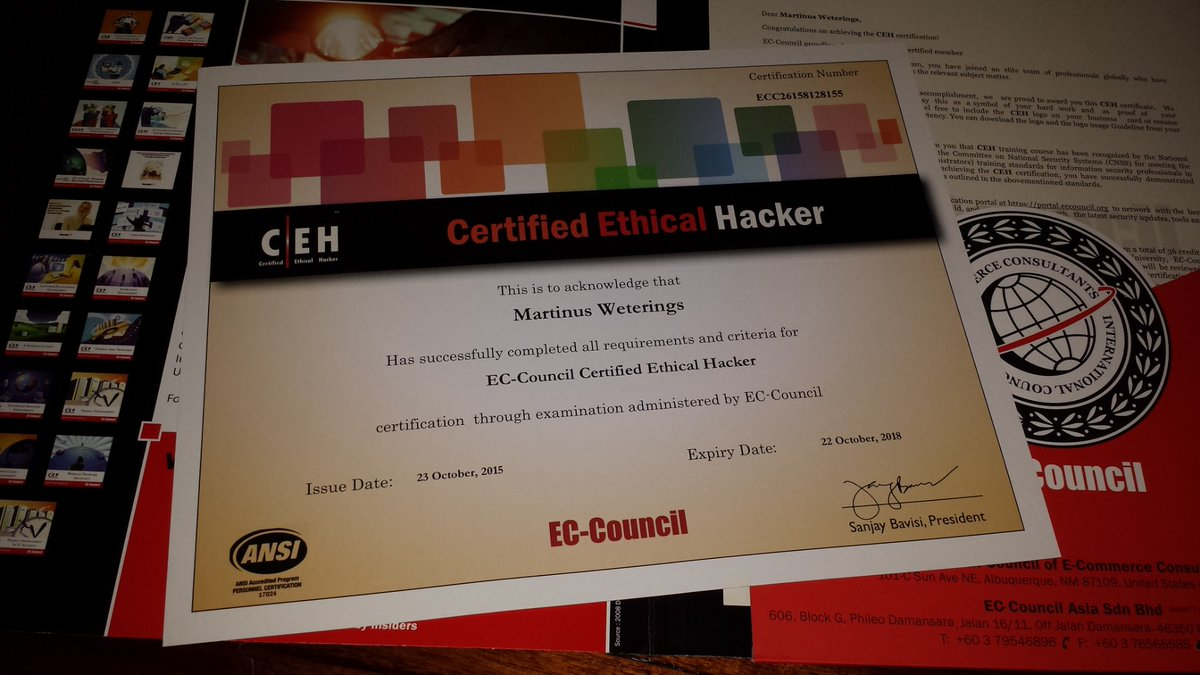 it security and ethical hacking ceh v8 full courses