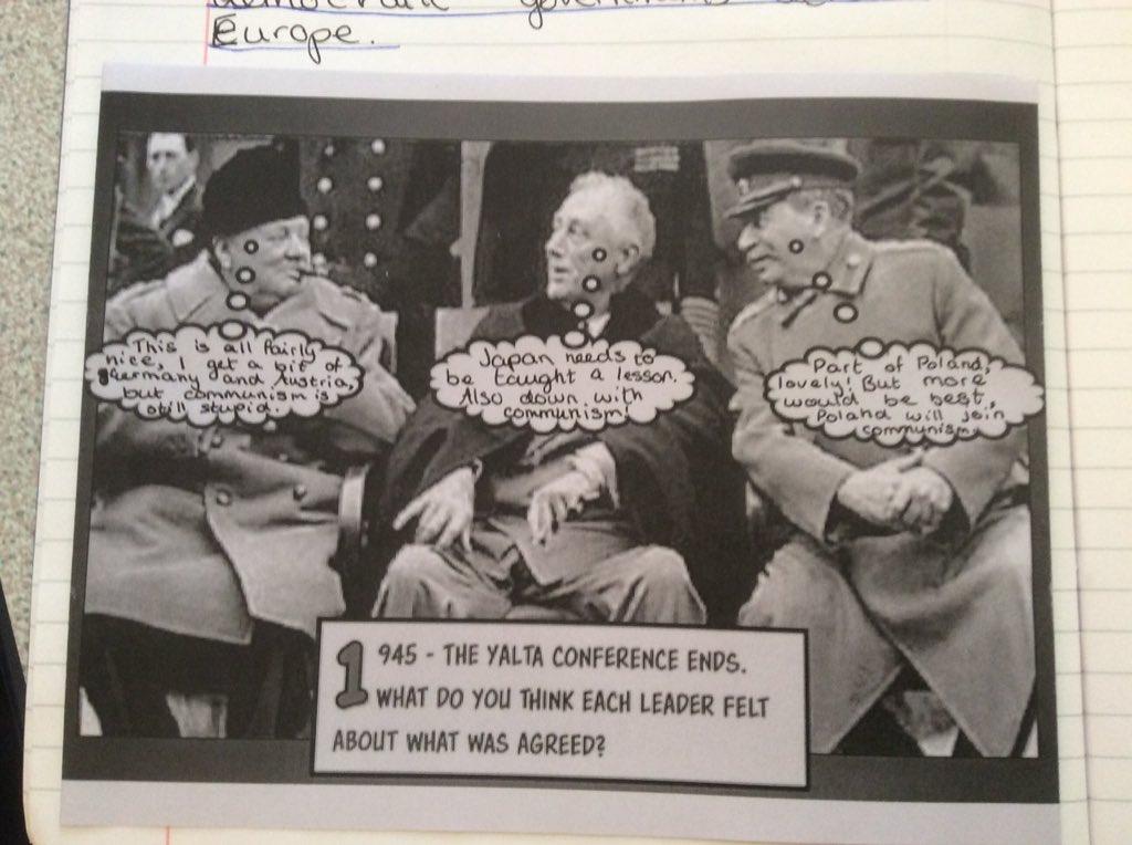 John Mitchell On Twitter Splendid Work From Y11 On The Yalta