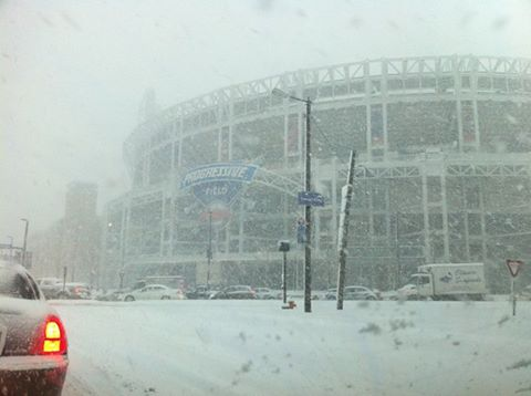 Not warm enough for you in Cleveland today?  Here's five years ago today #canalwaysbeworse https://t.co/dLDaWAd1wU