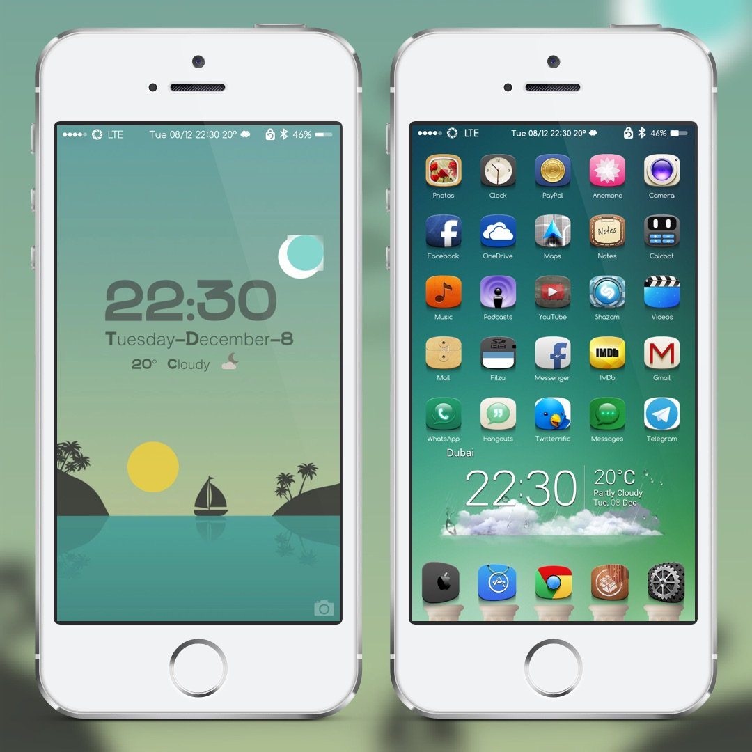 #1nka by @frenchitouch Green Style