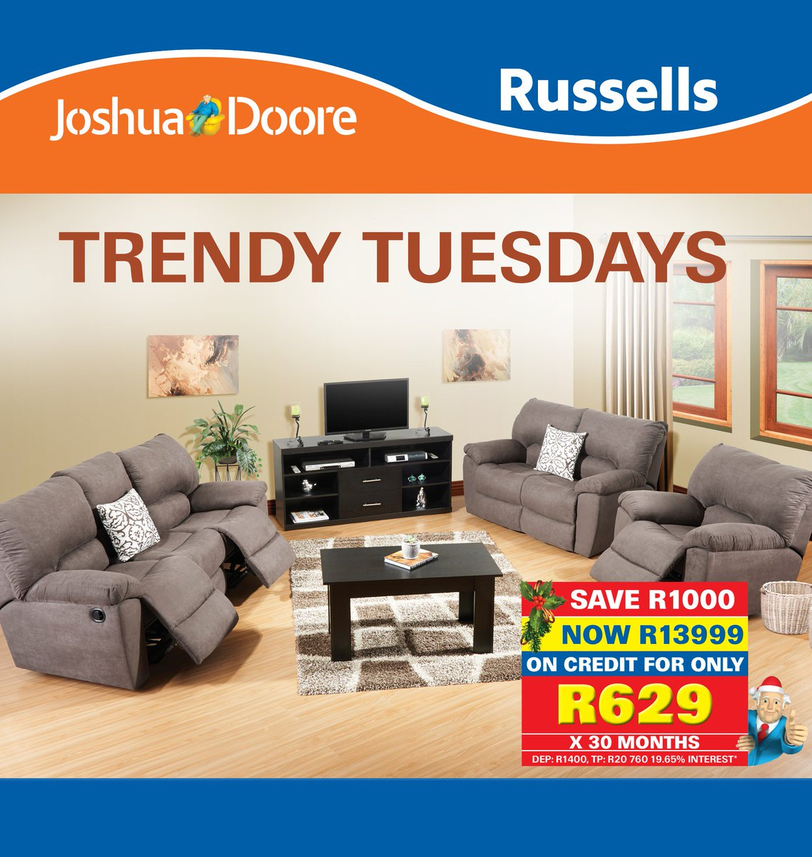Russells On Twitter SAVE R1000 When You Purchase This Stunning COLT 3 PIECE LOUNGE SUITE Only At Joshua Doore Tco 69adGiJ3Uj