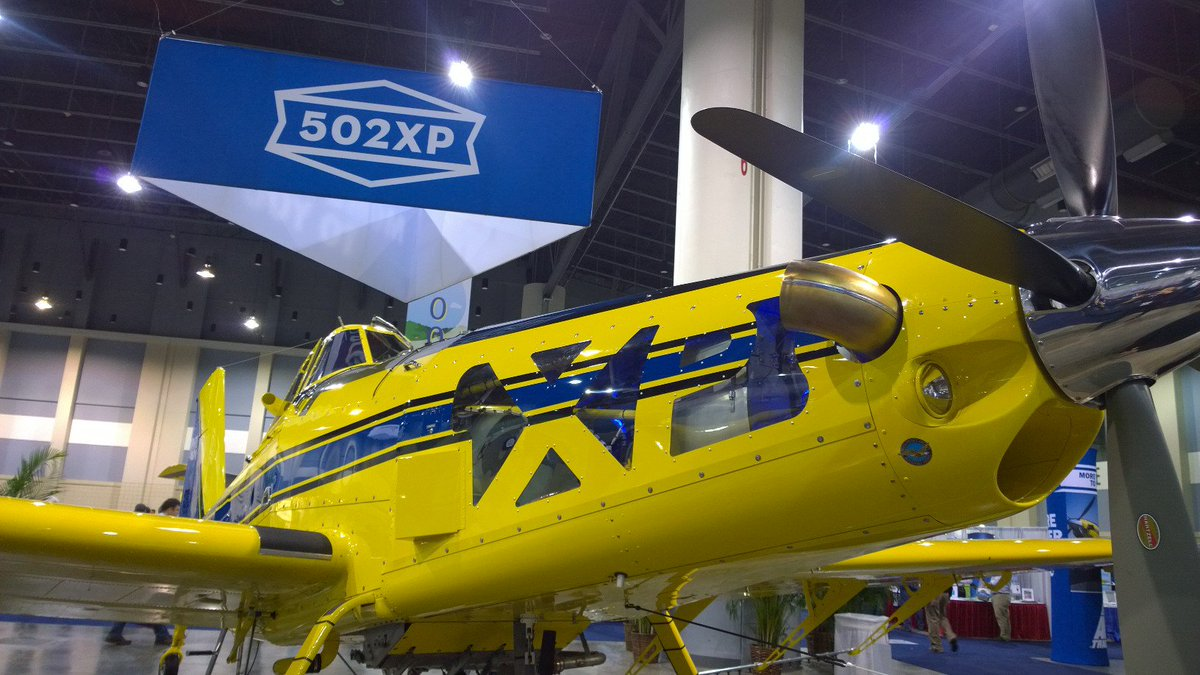 Proud to officially launch the new PT6A-140AG at #NAAA2015, available on @airtractorinc's new AT502XP! https://t.co/5aZTinN3KM