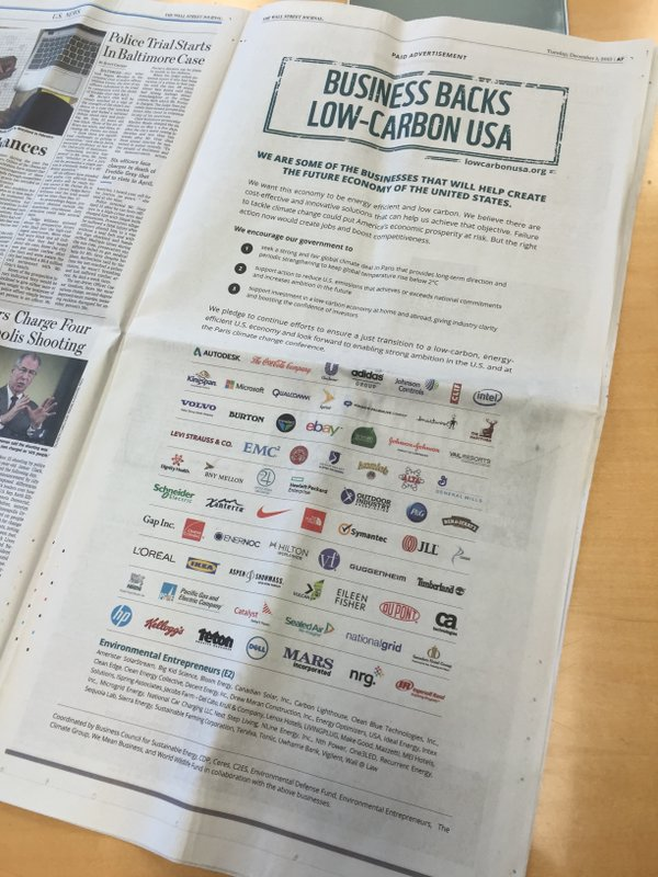 A Strong Climate Deal Makes Dollars and Sense for American Business via @TriplePundit https://t.co/UqW4tpC304 https://t.co/Moq3XQZpWz