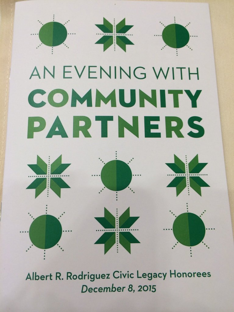 at @CommunityPrtnrs Holiday gathering. Read abt '14 event https://t.co/75YDnhP47K Networking w/otr #SocEnt projects https://t.co/qAN0jCNxMS