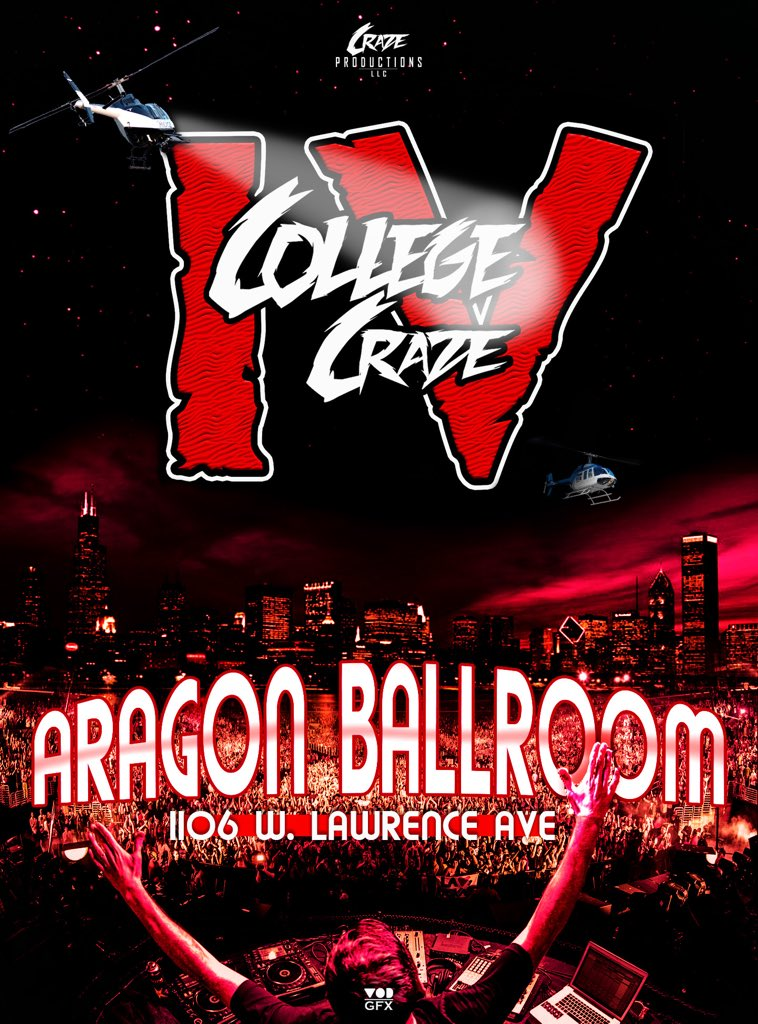#CollegeCraze4 ❗️ 12.26.15  The Ultimate Party Experience