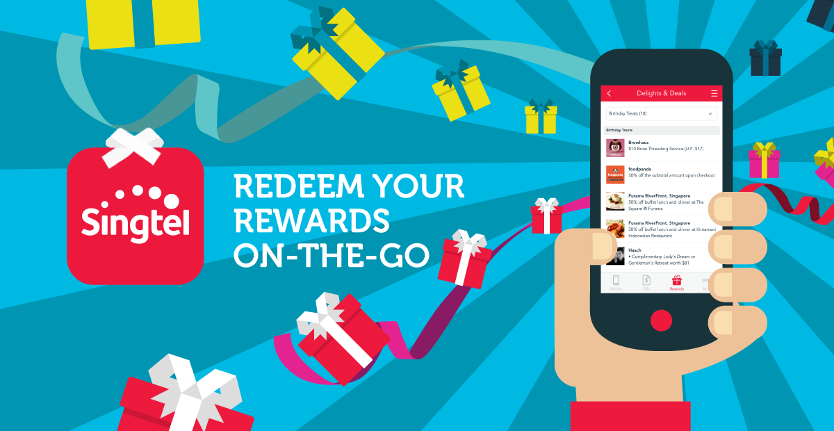 Singtel rewards