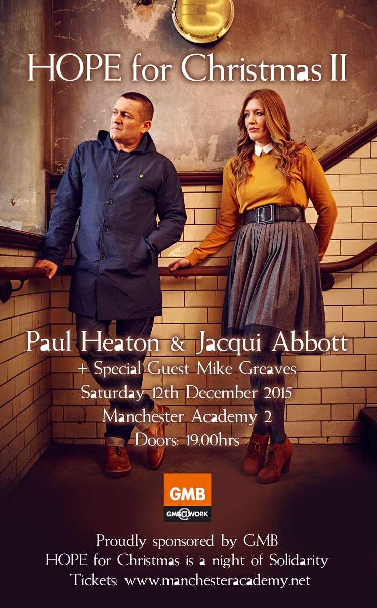 Win tickets to Hope For Christmas II starring @PaulHeatonSolo & @atomic_box  https://t.co/oDc6hGmvfU via @McrGossip https://t.co/rnXbxiBxdy