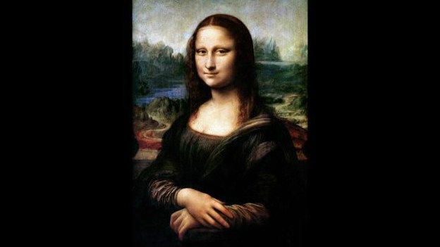 retrato escondido bajo la Mona Lisa