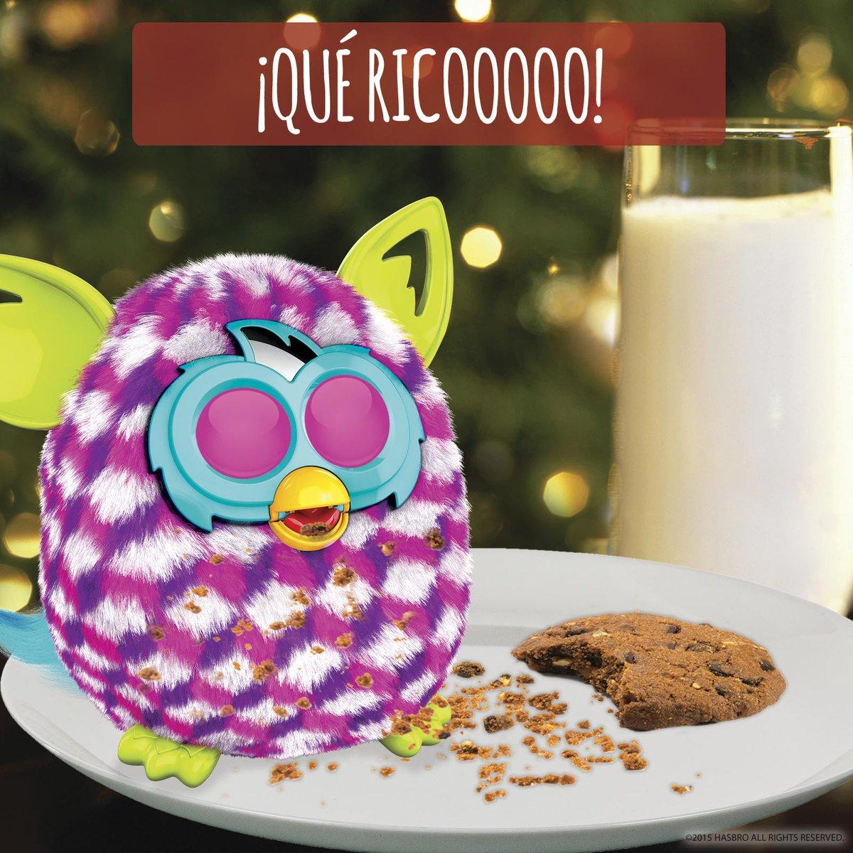 Algunos ya están comiendo los dulces típicos navideños… ¿Y vosotros? ¿Sois tan golosos como #FurbyBoom? :) https://t.co/usikUdu7XC
