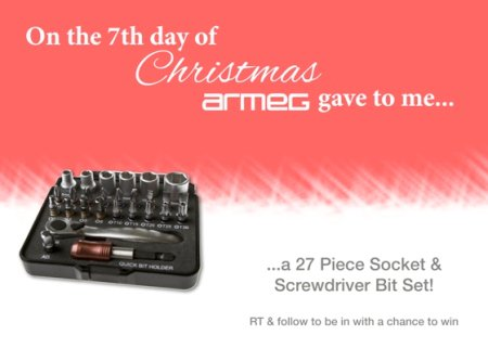 It's day 7 of our spectacular #12DaysOfChristmas giveaway! Follow & RT to win today's amazing prize! https://t.co/aBHEMnfrE5