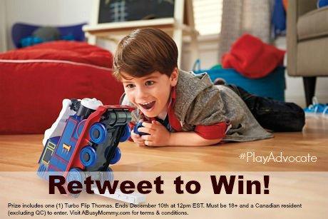 Retweet to win the Thomas & Friends™ Turbo Flip Thomas #PlayAdvocate Terms & Conditions: https://t.co/E1DtjORJOy https://t.co/NM92j6RKzH