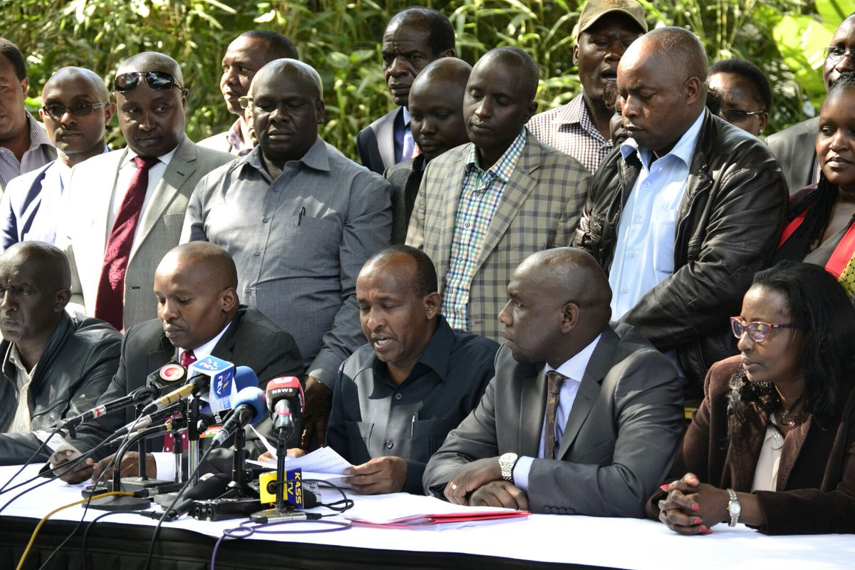 Image result for duale in press conference