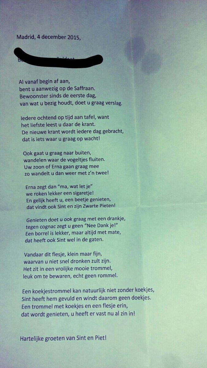 Oma zijn gedicht