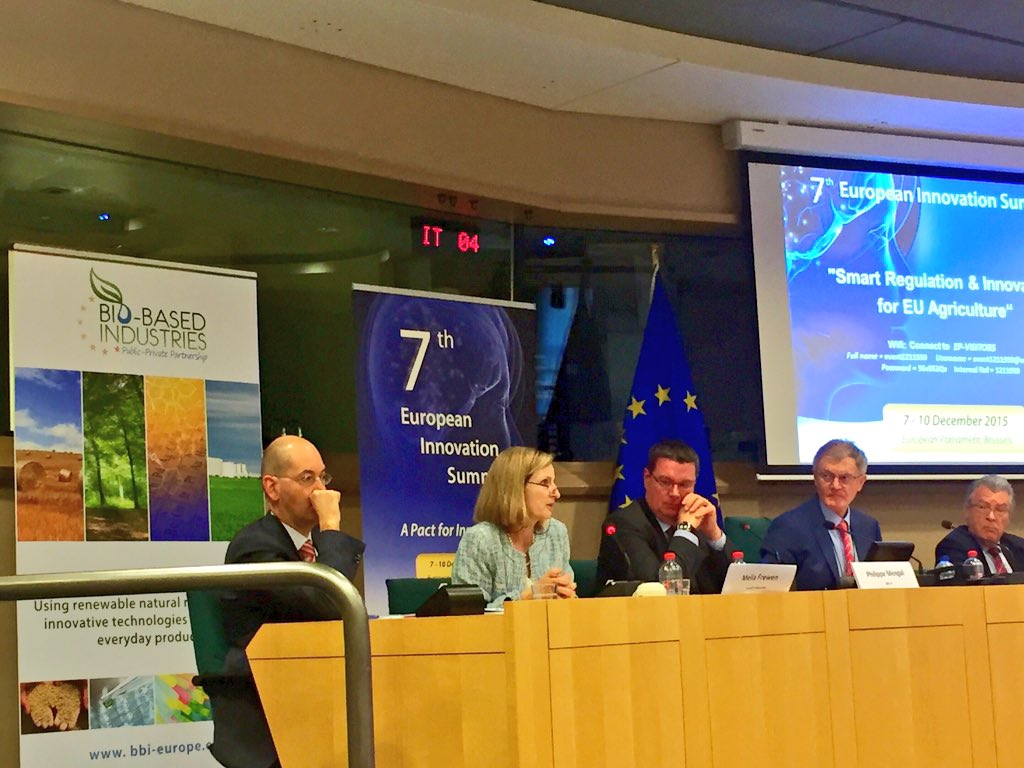 During #7EIS @FrewenMella DG @FoodDrinkEU denounces the misuse of the precautionary principle in #EU #Ag_Innovate https://t.co/GAKPPCHmTe