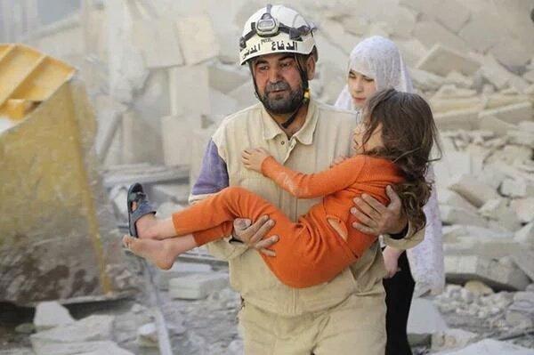 Disitruzione indiscriminata in Siria