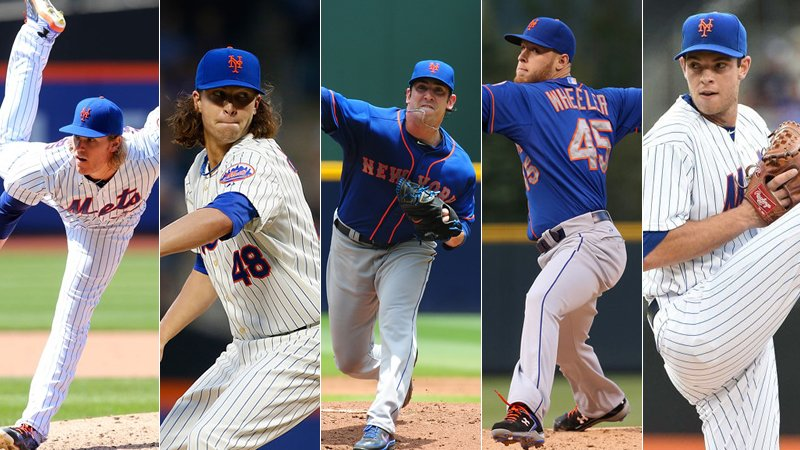 DeGrom Wheeler Matz Syndergaard Harvey