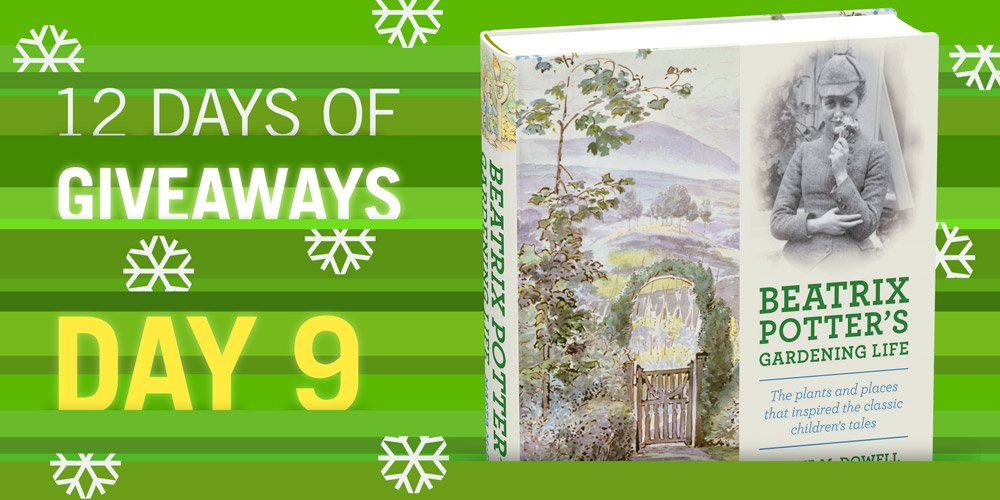 BEATRIX POTTER'S GARDENING LIFE 12 Days of Giveaways Follow & RT to win! https://t.co/Z0Zcju0QLt https://t.co/tGNzdg9ZTF