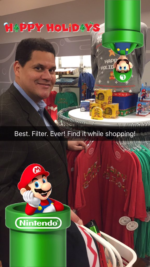 Nintendo snapchat