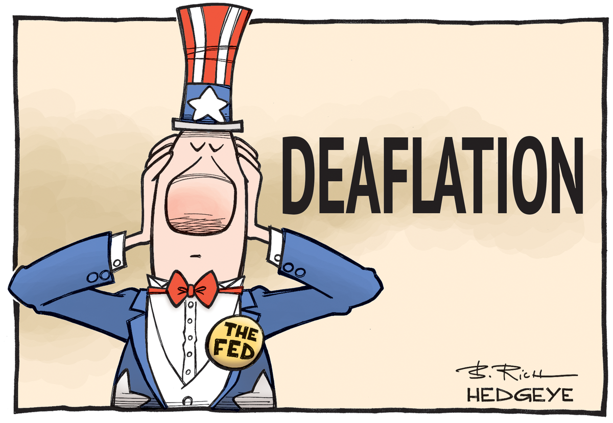 Cartoon of the Day: Nah Nah, I Can't Hear You KeithMcCullough Deflation Fed Transitory? | Hedgeye | Scoopnest