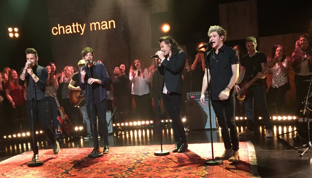 A whole lotta #History on Friday's #chattyman! #1DonChattyMan