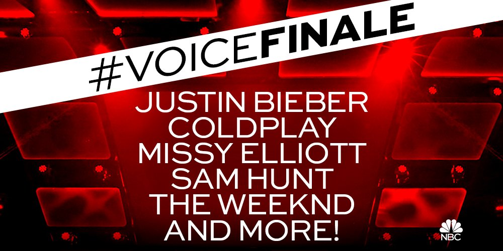 JUST ANNOUNCED: Our biggest #VoiceFinale EVER! With performances from...