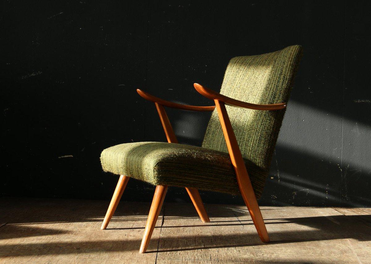 Vintage Design Fauteuil.De Huiszwaluw On Twitter Top Deens Vintage Design Groen En