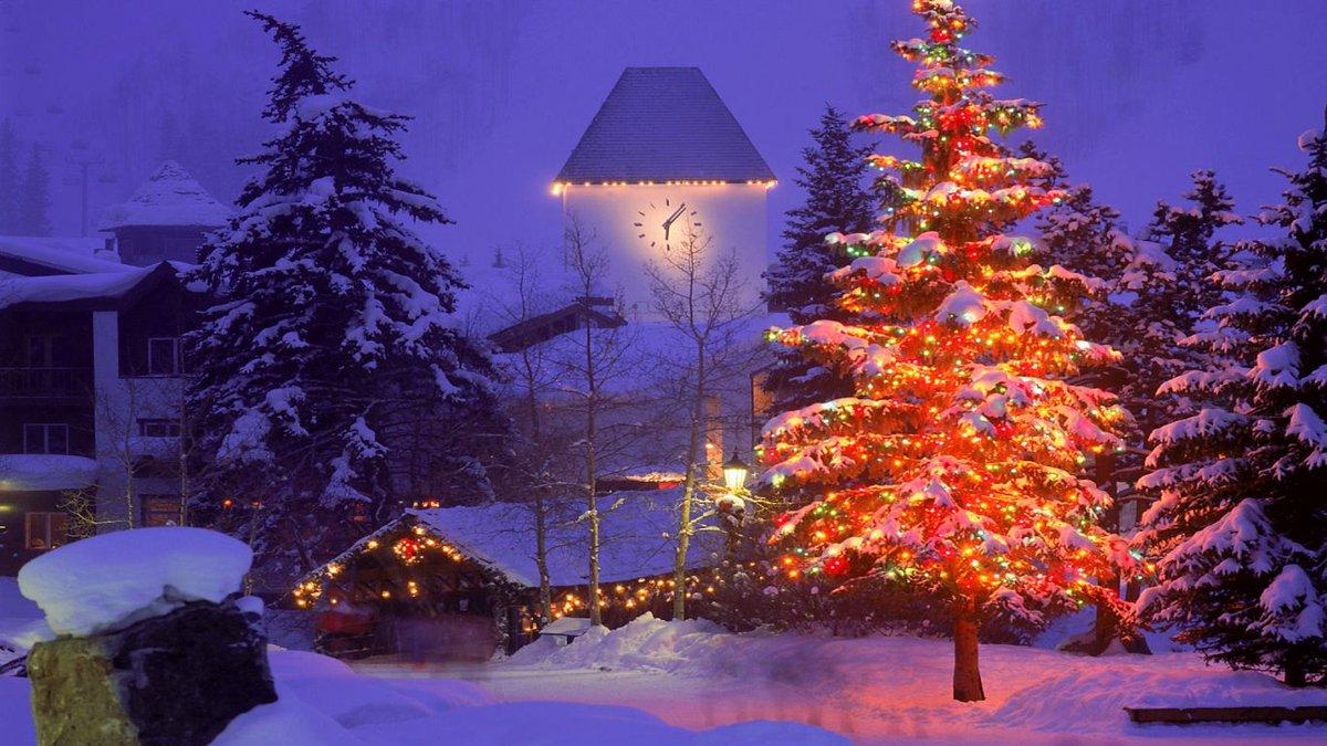 Картинки новогодней елки на рабочий стол