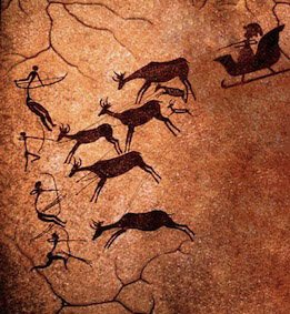 If anyone is in doubt that Santa Claus is real, this newly discovered Palaeolithic rock art should sort that out https://t.co/K081tOCDK0