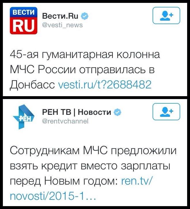 """Очередной """"путинский гумконвой"""" нарушил российско-украинскую границу - Цензор.НЕТ 5326"""