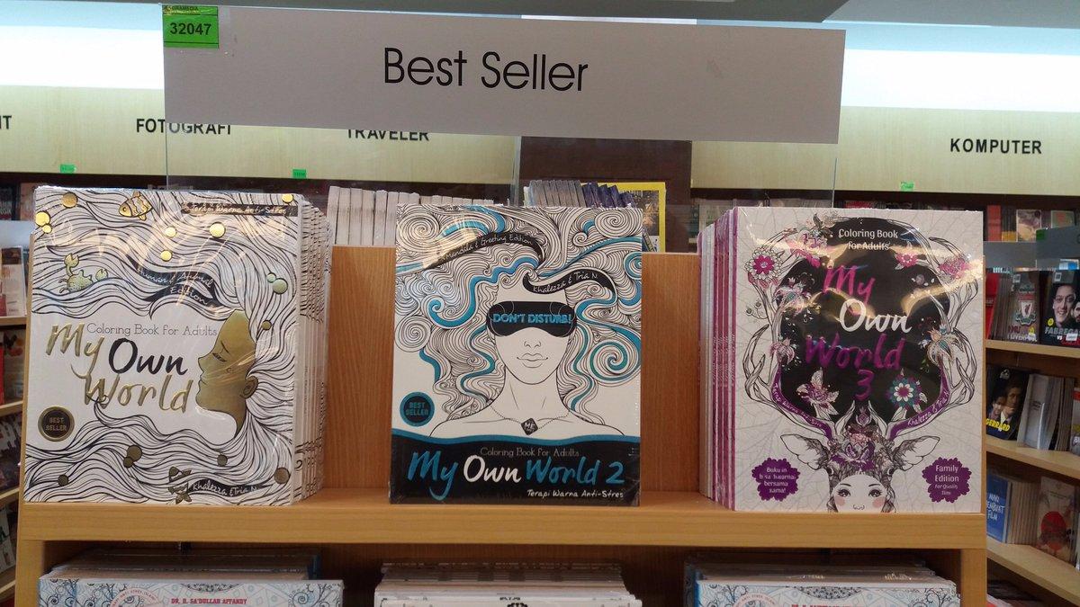 Gramedia Cibinong On Twitter BEST SELLER Coloring MY OWN WORLD 1 2 Tersdia Seri Terbaru My Own World 3 EdisiFamily Renebooks Tabrak Warna