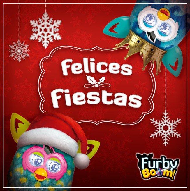 ¿Todo listo para esta noche? ¡Es Nochebuena! #FurbyBoom va a cenar con su familia…Y luego  de fiesta con sus colegas https://t.co/4oJWwaeE2W