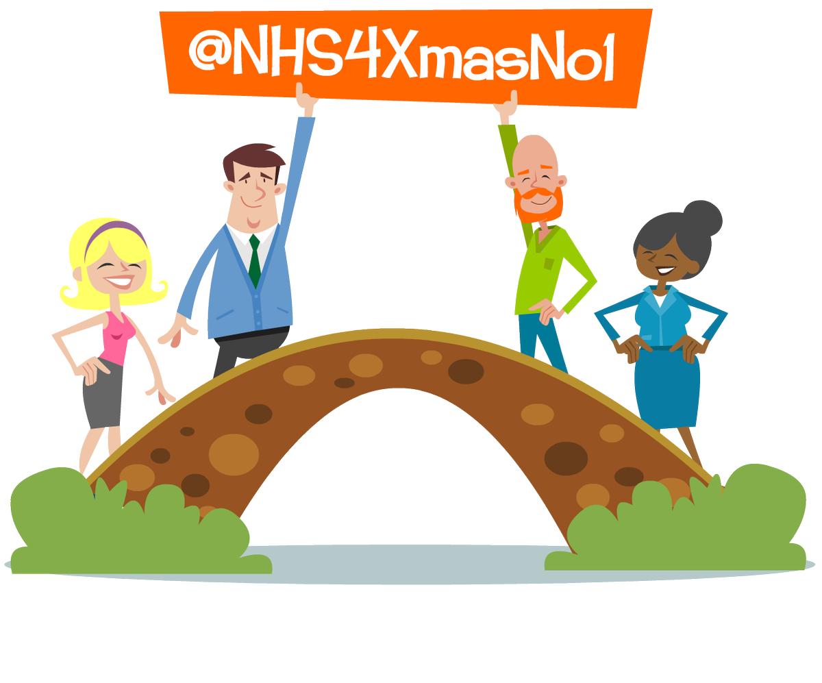 The race is on and the gap is tight - lets make it happen for our wonderful @NHS4XmasNo1 https://t.co/OonCL9QIZr … … https://t.co/UrDSqkAO3D