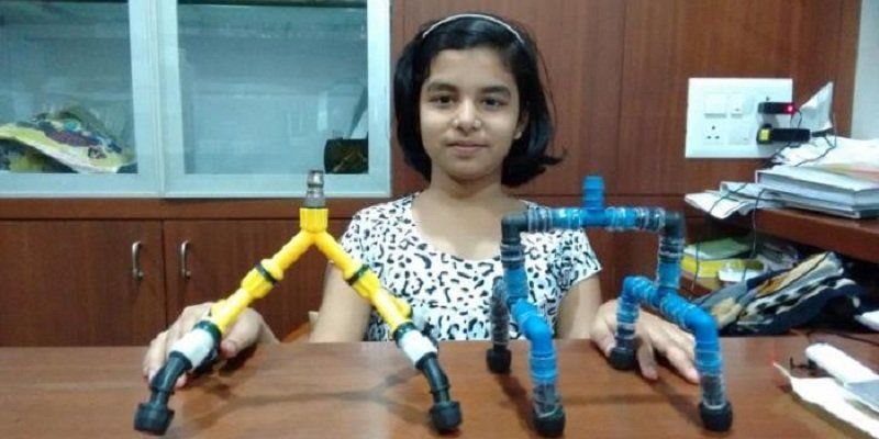 This 12-year-old girl has invented a shower which saves upto 80% water https://t.co/PZ11fS8YBF https://t.co/hj3gzwZ8sh