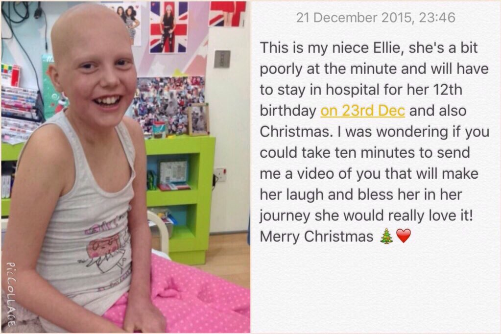 RT @BabyyRick: Please read this story brave girl fighting cancer tweet would be nice @MrPeterAndre @JoeyEssex_ @elliottwright_ https://t.co…