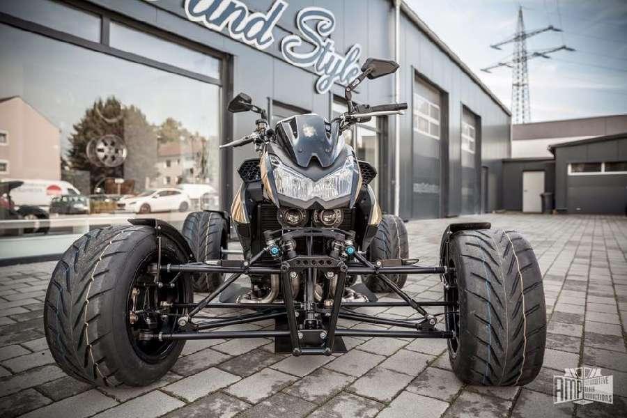 Sialaventa On Twitter Una Diabólica Kawasaki Z1000 Convertida En