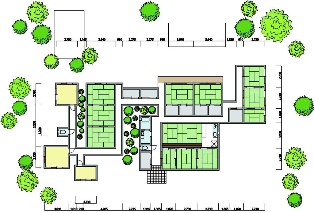 HAのマップ参考にして衛宮邸の間取図書いたー!アニメとか全部確認したわけじゃないから結構てきとうだけど 4枚目は初日の夜の図