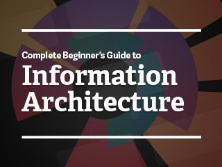 Complete Beginner's Guide to Information Architecture https://t.co/mINR9mlJkr amazing #IA resources on @UXBooth https://t.co/SyQdlNczC7