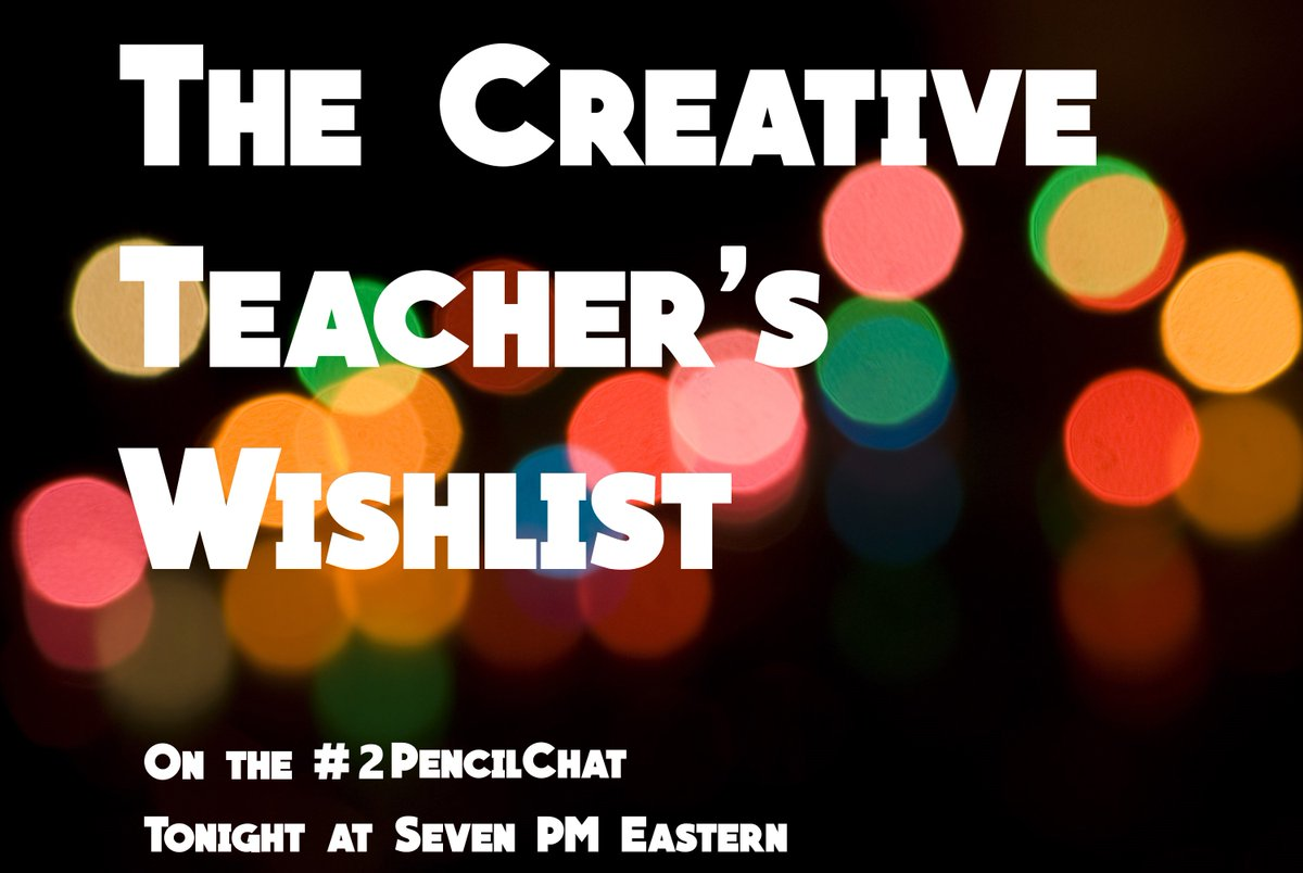 Tonight's Q's are posted here: https://t.co/XEPqcN0sxO Join us for the #2PencilChat! https://t.co/ZictJuS56d