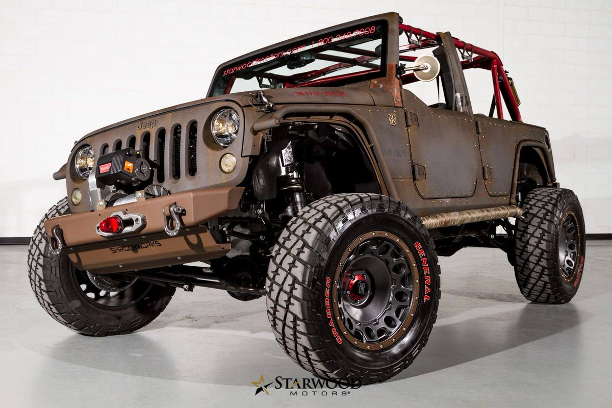 Starwood Motors On Twitter Check Out Project Rough Nek Album Facebook StarwoodCustoms Jeep RoughNek RatRod Tco PTw6B233pj