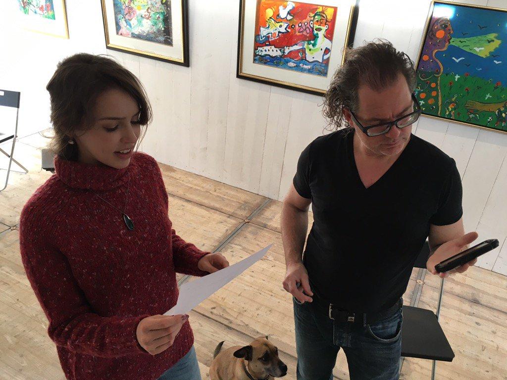 #2nite @SCHUNCKnews #Heerlen RT @stefaniegmj: Rehearsing Xmas songs for with Ralf Jacobs @SeriousRequest #SR15 https://t.co/jk3g02xIzg