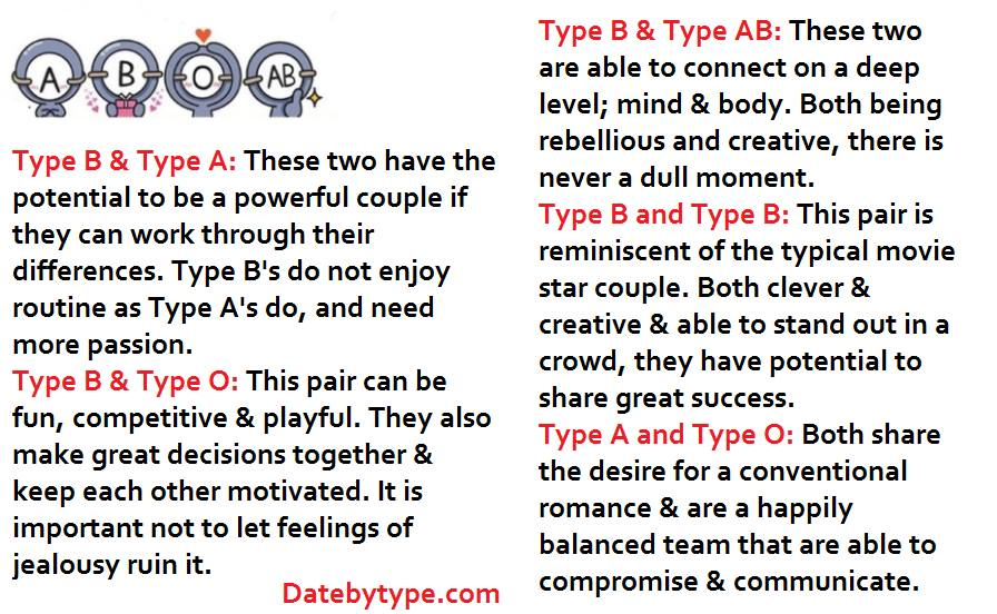 Matching Game 5 Advantages Of Type A People Dating Type B People
