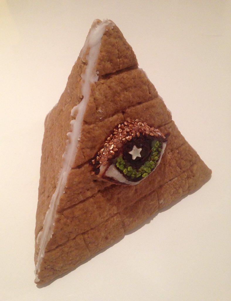 Gingerbread illuminati pyramid.   /cc @amoebadesign https://t.co/XAD9MD9uys