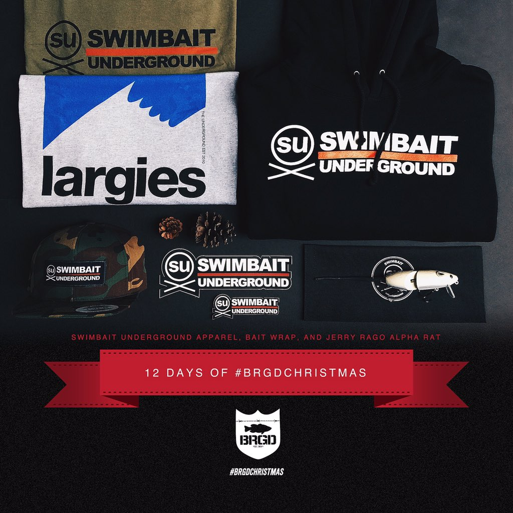On the 9th day of Christmas... Retweet for a chance to WIN this kit with hashtag #brgdchristmas #bassbrigade https://t.co/0ESOh3sjPk