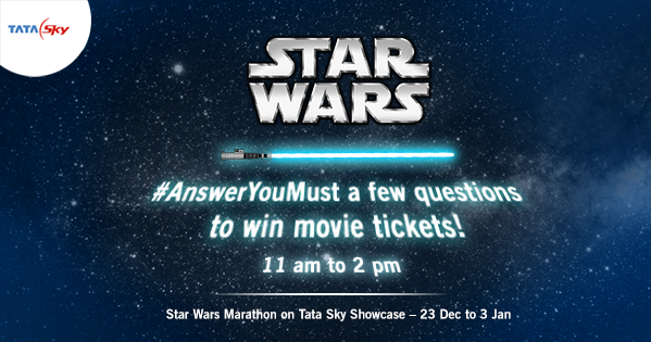 The force is strong today. Join our #AnswerYouMust contest & win movie tickets! Do or do not. There is no try. https://t.co/JVs14732BP
