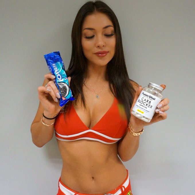 I ❤️@proteinworld carb blocker!Now I can have my cookies &not feel so guilty about it after!https://t