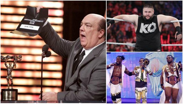 From @HeymanHustle to New Day, our alternative WWE 2015 awards and winners https://t.co/ccpxKhME2w https://t.co/PIGNYWCyzY