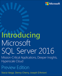 New free ebook! Introducing Microsoft #SQLServer 2016, Preview Edition https://t.co/02Ls2WLVli #ITPro #Hyperscale https://t.co/D3Qb14G5Kq
